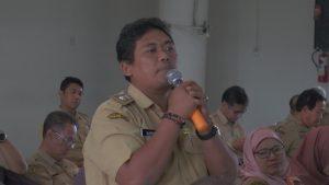 Ketua Paguyuban Kepala Desa se Kabupaten Rembang, Jidan Gunorejo.