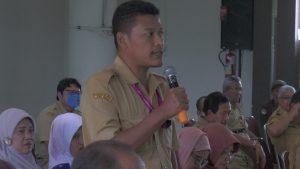 dr. Nur Khotib, Kepala Puskesmas Pamotan.