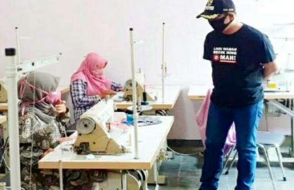 Siapkan 50 Ribu Masker Gratis, Dua Pihak Ini Yang Dilibatkan Pemkab