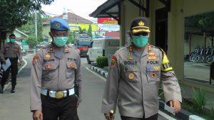 Kapolres Rembang, AKBP Dolly A. Primanto menyampaikan himbauan masyarakat, terkait modus kejahatan di masa pandemi Covid-19.