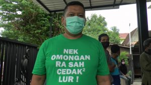 Humas Gugus Tugas Percepatan Penanganan Covid-19 Pemkab Rembang, Arif Dwi Sulistia.