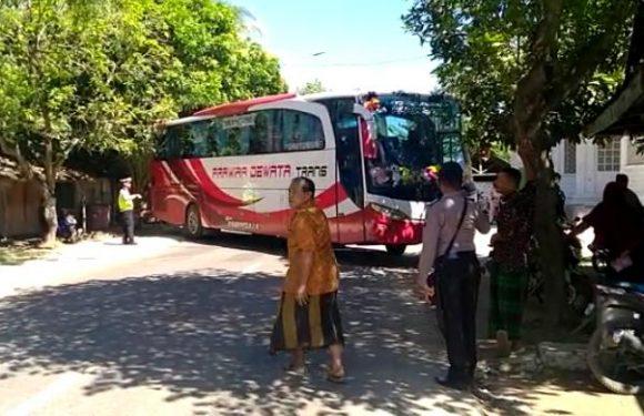 """Hindari Pantura, Sejumlah Bus Berisi Pemudik """"Terciduk"""" Di Pos Sale"""