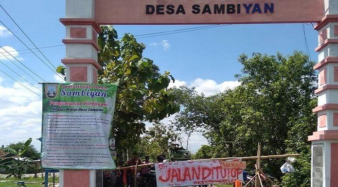 """Sejumlah Desa """"Lock Down"""", Boleh Keluar Kampung Asalkan Untuk Kepentingan Ini"""
