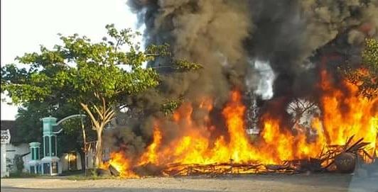 Kebakaran Di Paloh-Tasikharjo, Dugaan Penyebabnya Agak Mengejutkan