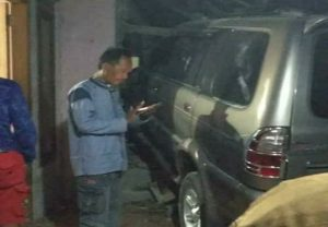 Situasi TKP kecelakaan di Desa Bangunrejo Kecamatan Pamotan, Senin malam (25 Mei 2020).