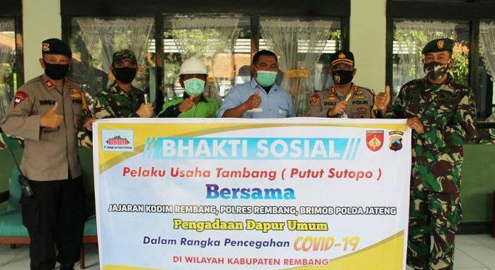 Pengusaha Putut Sutopo Back Up Dapur Umum TNI/Polri, Ini Alasannya