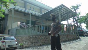Ruang Isolasi perawatan pasien Covid-19 RSUD dr. R. Soetrasno Rembang.