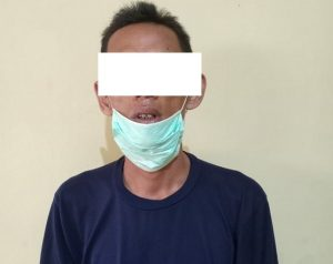 Tersangka pelaku Curanmor di Desa Lemahputih Kecamatan Sedan. (Foto atas) Barang bukti sepeda motor yang dicuri.