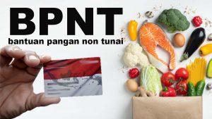 Ilustrasi BPNT.