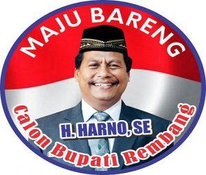 Harno, Ketua DPC Demokrat Kabupaten Rembang siap maju menjadi calon Bupati.