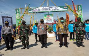Pencanangan Kampung Tangguh Nusantara Candi di Desa Logung, Kecamatan Sumber, Sabtu (20/06).