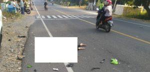 Salah satu kejadian kecelakaan lalu lintas di Rembang, beberapa waktu lalu.