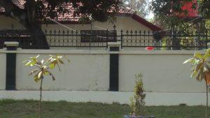 Kondisi panti jompo di Rembang, tampak lengang. Temuan terbaru berdasarkan tes swab, ada 11 orang terpapar Covid-19 di lokasi ini.