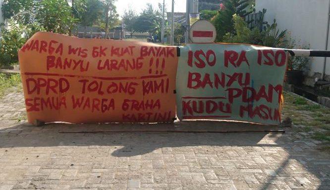 Soal Air Di Graha Kartini Rembang, Begini Penjelasan Pihak Pengembang Dan PDAM