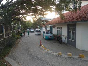 Suasana RSUD dr. R. Soetrasno Rembang.