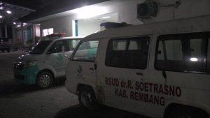 Suasana kamar jenazah RSUD dr. R. Soetrasno Rembang.