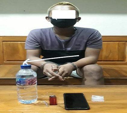 Gunakan Sabu-Sabu, Pemuda 19 Tahun Diciduk Dari Kamar Hotel