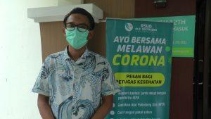 Dokter spesialis paru-paru RSUD dr. R. Soetrasno Rembang, dr. Mulyadi Subarjo. (Foto atas) Kota Rembang tampak dari udara (ancell).