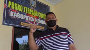 Arif Dwi Sulistya, Humas Gugus Tugas Percepatan Penanganan Covid-19 Pemkab Rembang.