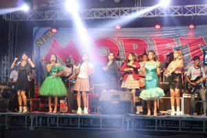 Pentas musik dangdut di Kabupaten Rembang, sebelum pandemi Covid-19.