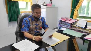 Kepala Dinas Kebudayaan Dan Pariwisata Kabupaten Rembang, Dwi Purwanto menyampaikan SE Bupati. (Foto atas) Pentas dangdut sebelum terjadi pandemi Covid-19.