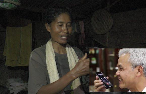 Kartini, Wanita Tinggal Sendiri Di Tengah Hutan Ditelefon Gubernur Ganjar Pranowo. Ada Apa ?