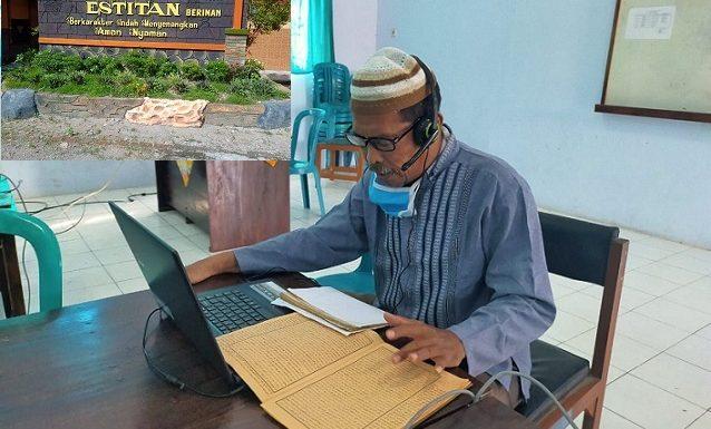 Isi Pembelajaran Online Dengan Mengaji Kitab Kuning, Pihak SMP N 3 Pamotan Punya Alasannya