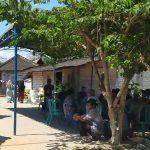 Suasana rumah korban meninggal dunia, di Desa Lodan Wetan Kecamatan Sarang, Jum'at (31 Juli 2020).