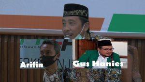 Abdul Hafidz, Bupati petahana, apakah nanti akan berpasangan dengan Arifin atau Gus Hanies ?