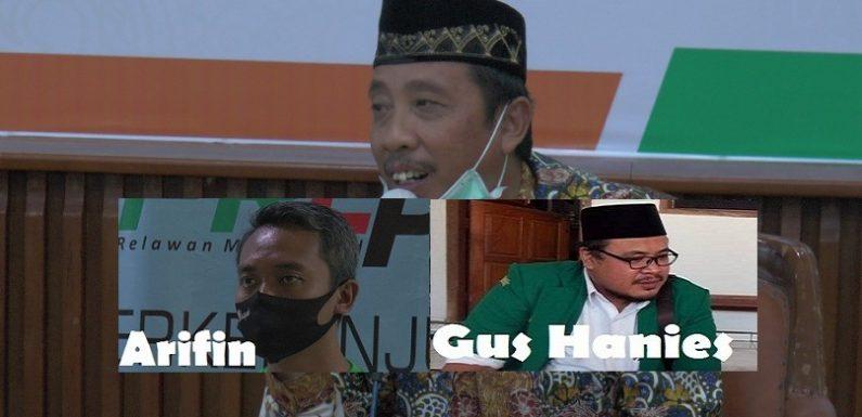 Ditanya Memilih Arifin Atau Gus Hanies, Begini Komentar Sang Petahana Abdul Hafidz