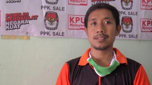 Ketua PPK Sale, Ari Suwanto.
