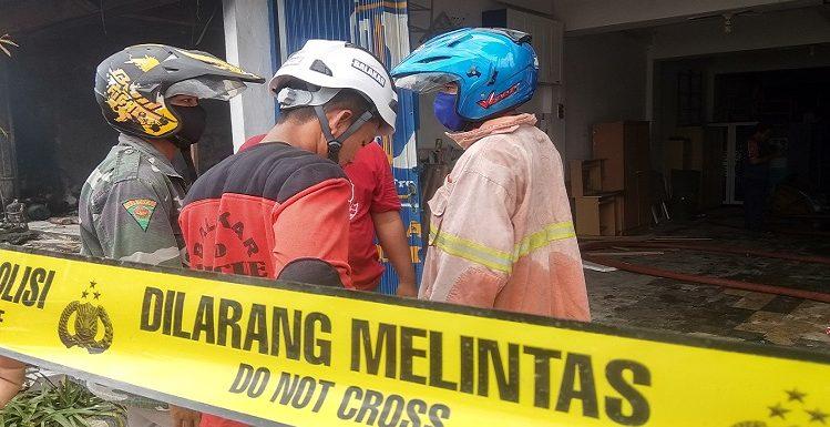 Karena Kondisi Ini, Damkar Turun Lagi Ke Toko Mebel Tunggal Jaya