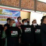 Paguyuban Mantan Petinggi Rembang (PMPR) melancarkan gerakan #2020 Ganti Bupati, Minggu (02 Agustus 2020).