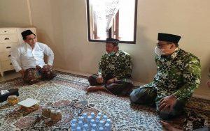 Abdul Hafidz dan Hanies Cholil Barro' saat bertemu Taj Yasin, tokoh muda PPP sekaligus Wakil Gubernur Jawa Tengah, belum lama ini.