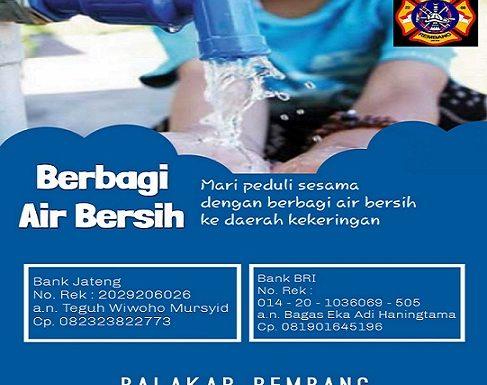 Balakar Prakarsai Penggalangan Dana Untuk Bantu Air Bersih, Yukk Kita Donasi!!!