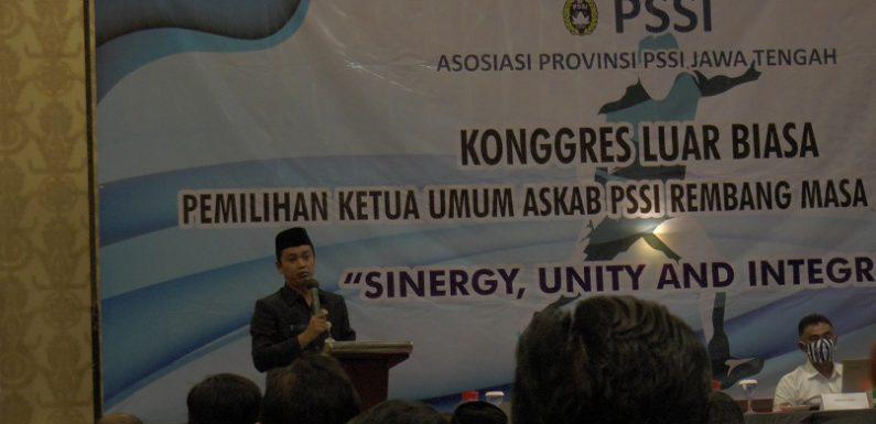 Terpilih Menjadi Ketua Umum Askab PSSI Rembang, Tapi Kenapa Andi Kurniawan Tidak Hadir ?