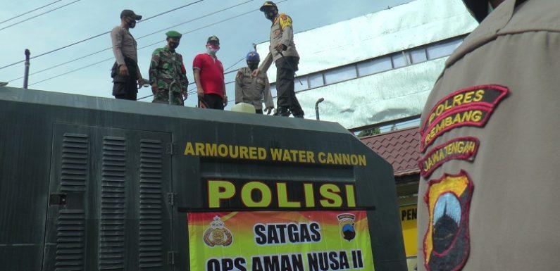 Dua Kecamatan Jadi Sasaran Water Canon, Kapolres Ungkap Alasannya