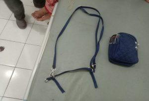 Tas milik korban.