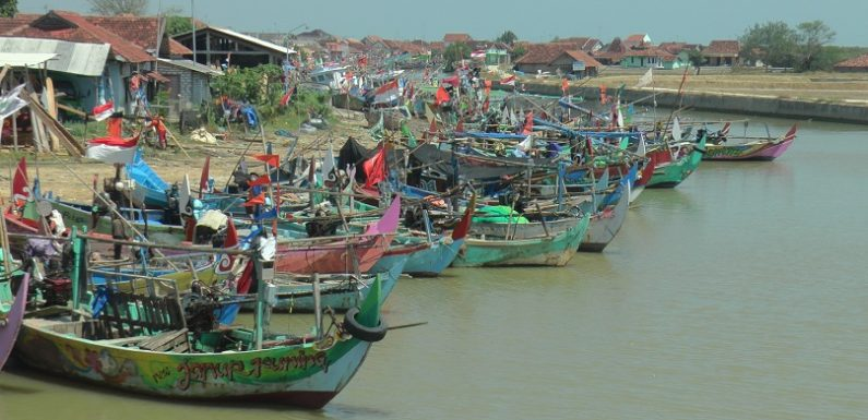Nekat Demi Keluarga : Saat Perairan Rembang Sepi Hasil, Cara Ini Dilakukan Nelayan Tunggulsari