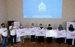 6 desa sekitar PT Semen Gresik Pabrik Rembang menerima penghargaan program P4L. (Foto atas) Suasana PT Semen Gresik Pabrik Rembang.