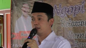 Ketua DPD Nasdem Kabupaten Rembang, Bayu Andriyanto.
