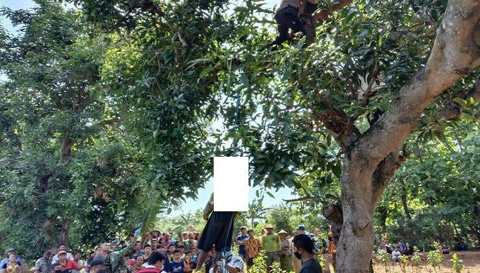 Tewas Gantung Diri Di Atas Pohon, Polisi Ungkap Riwayat Keseharian Korban