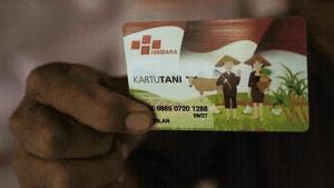 Kartu Tani (bimata.id).