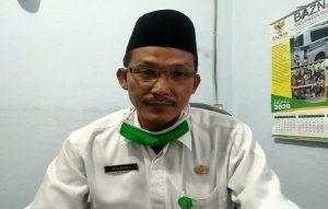 Zuhri, Kepala Seksi Penyelenggara Haji Dan Umroh Kementerian Agama Kabupaten Rembang.