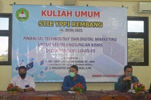 Kuliah umum STIE YPPI Rembang.