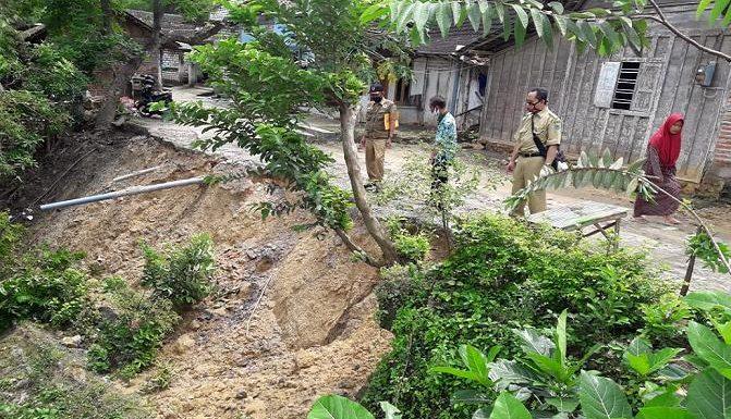 Longsor Rawan Meluas, Warga Diingatkan Pantau Perkembangan Cuaca