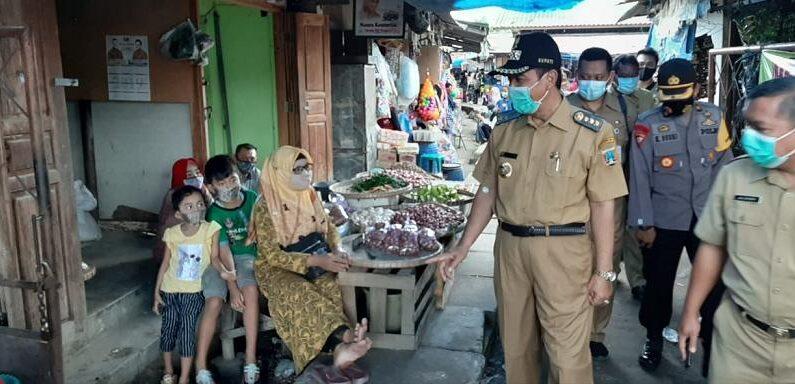 Pedagang Pasar Tak Patuhi Protokol Kesehatan, Bupati Ungkap Sanksi Terberat