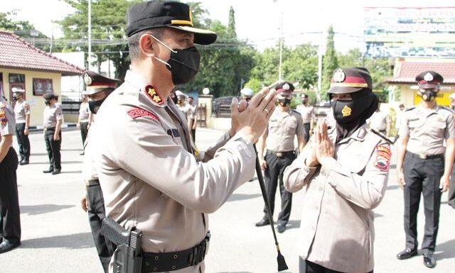 87 Polisi Naik Pangkat, Dua Jabatan Kapolsek Diisi Wajah Baru