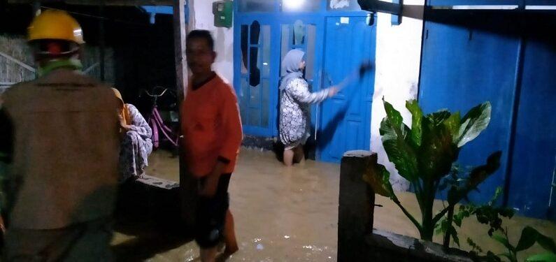 Ratusan Rumah Di Kecamatan Sarang Terendam Banjir, Begini Usulan Pihak Desa Bagian Hilir Sungai