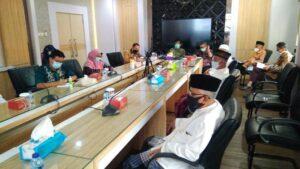 Sejumlah tokoh ulama Lasem menggalar audiensi dengan Bupati Rembang, Kamis (21 Januari 2021).